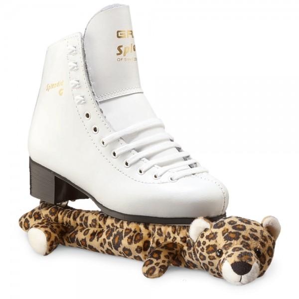 Graf Eiskunstlauf Schoner Plüschtier Leopard