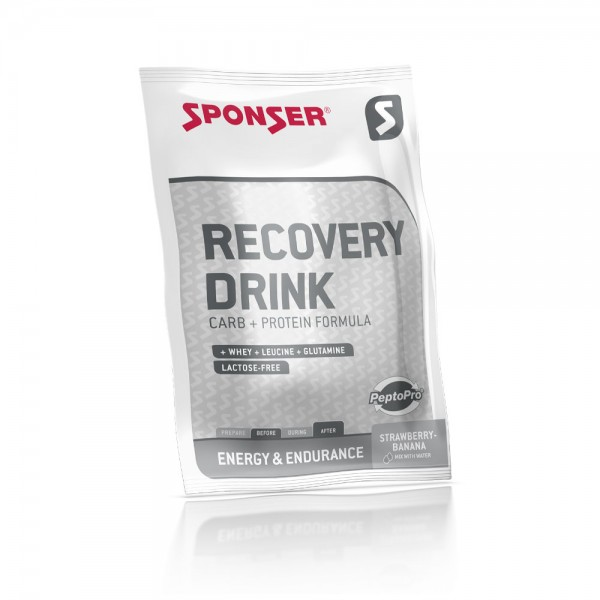 Sponser Recovery Drink Sachet 60g (300ml) Strawberry-Banana
