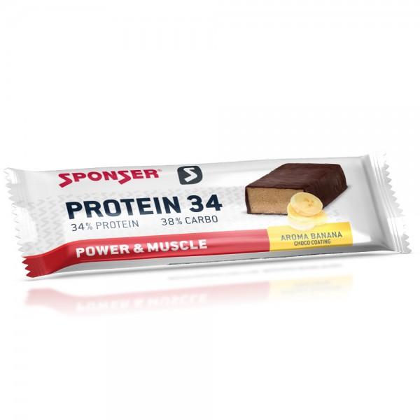 Sponser Protein 34 Banana 40g Riegel