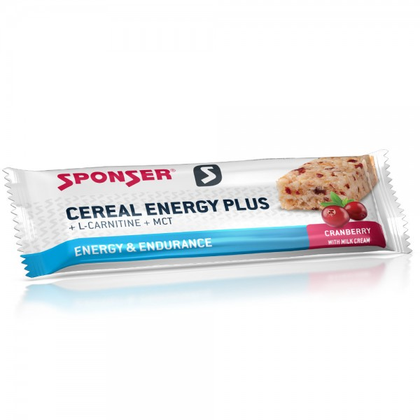 Sponser CerealEnergyPLUS 40g Cranberry