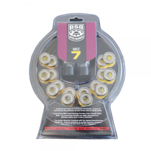 Kugellager BSB Bearings ABEC 7 (16 Stück)